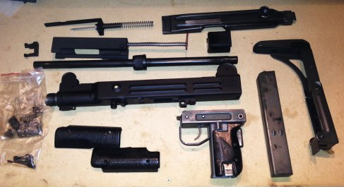 Complete Instructions all 7 post: Building the Fully Legal Semi-Automatic UZI Carbine.