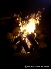Sitting By The Fire